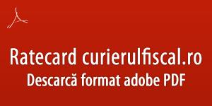 Download ratecard Curieru Fiscal PDF