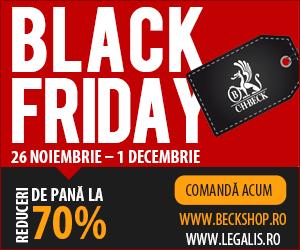 Black Friday 2015 - Reduceri de pana la 70% la produsele Editurii C.H. Beck