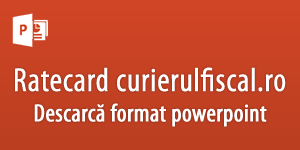 Ratecard Curierul Fiscal Powerpoint