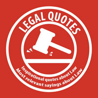 Inspirational quotes about Law. Most relevant sayings about Law